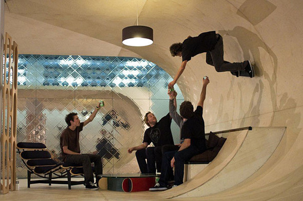 Первый скейтборд дом в мире. Изображение № 2.