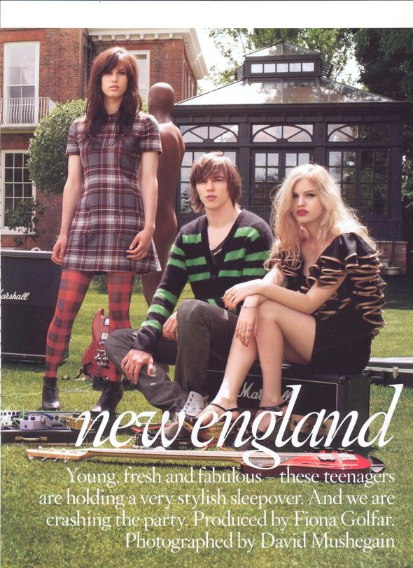 NEW ENGLAND BRIT VOGUE. Изображение № 1.