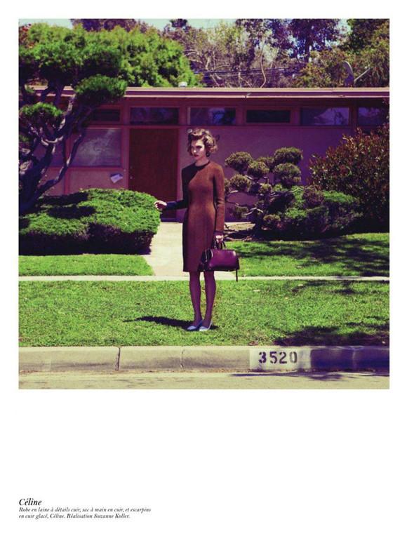 Съёмка: Аризона Мьюз, Лара Стоун, Наташа Поли и другие модели во французском Vogue. Изображение № 19.