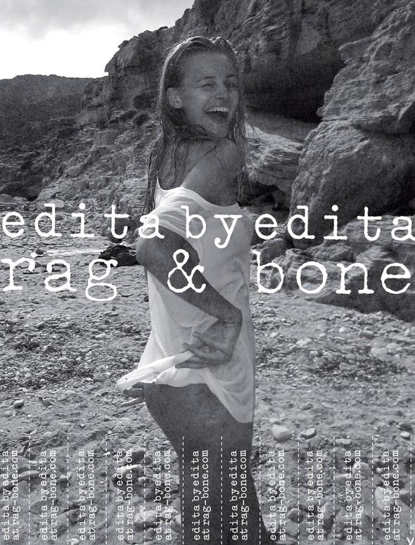 Изображение 3. Саша Пивоварова, Эбби Ли Кершо, Эдита Вилкевичюте и Лили Олдридж сняли себя для Rag & Bone.. Изображение № 6.