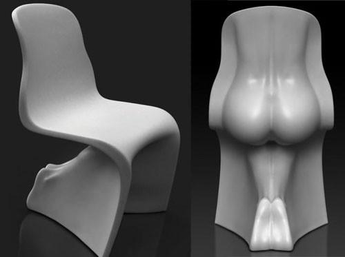 6 эротических дизайнов интерьера. Изображение № 6.