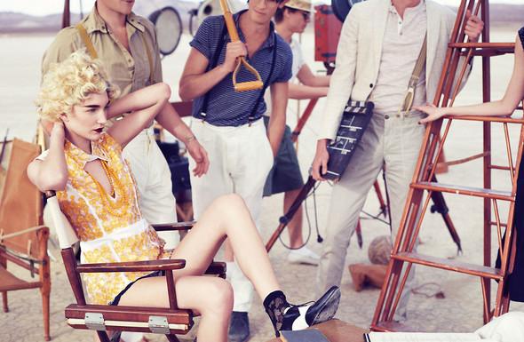 Съёмки: Elle, i-D и Vogue. Изображение № 28.