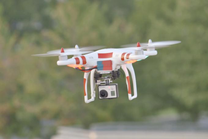 В Красноярске владельца дрона оштрафовали за полёт без разрешения. Изображение № 1.