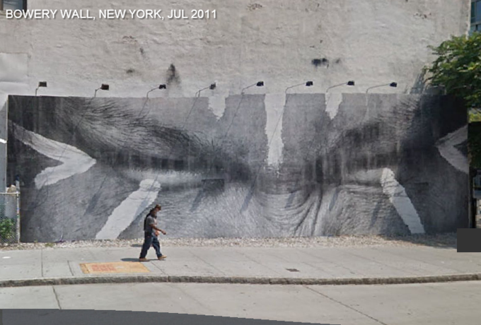 Историю граффити на одной стене восстановили с помощью Google Street View . Изображение № 7.