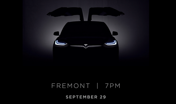 Tesla Motors объявила дату презентации Model X. Изображение № 1.