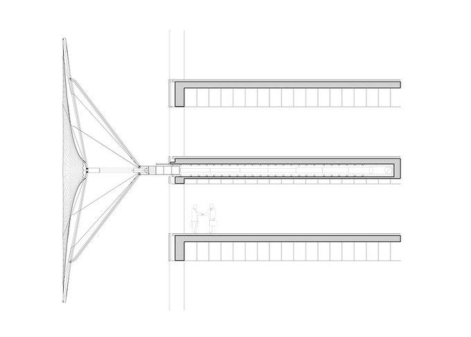 Бюро REX предложило концепцию небоскрёба с функцией зонта. Изображение № 7.