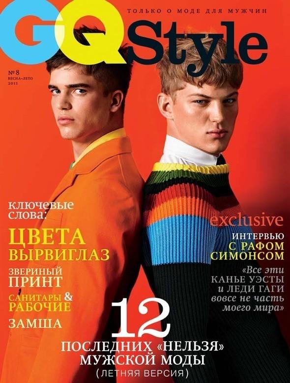 Изображение 6. Обложки: AnOther Man, GQ Style, Vogue Hommes и другие.. Изображение № 2.