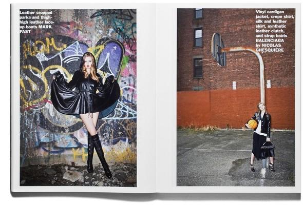 Съёмка: Терри Ричардсон и Линдси Уикссон для Purple Fashion. Изображение № 2.