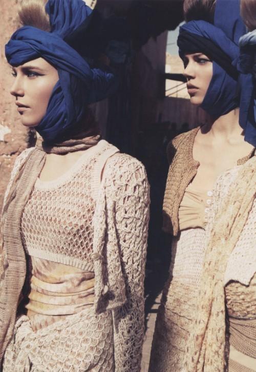 Марокканские каникулы(Vogue Paris'10). Изображение № 4.