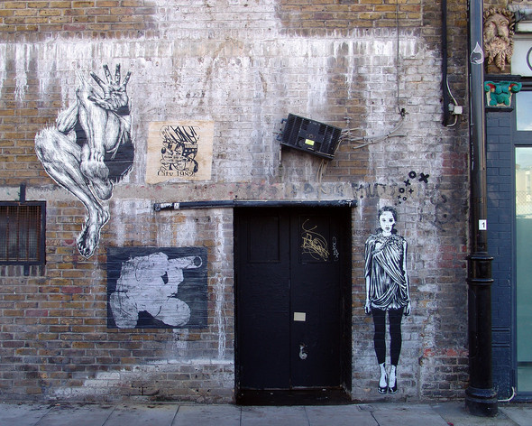 Стрит-арт в Лондоне. Изображение № 44.