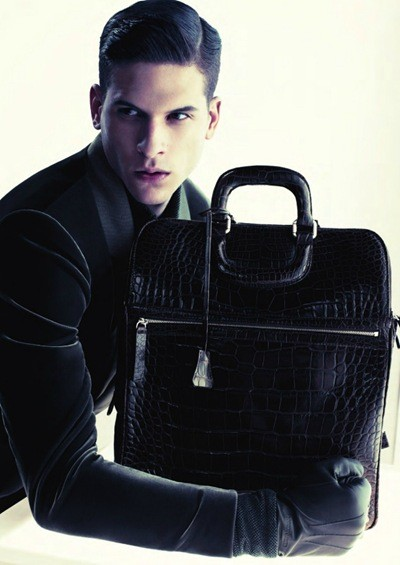 Кампания: Giorgio Armani FW 2011 Menswear. Изображение № 4.