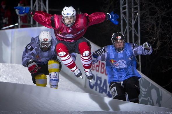 Изображение 4. Финляндия взяла реванш в Москве 26 февраля (Red Bull Crashed Ice 2011).. Изображение № 4.