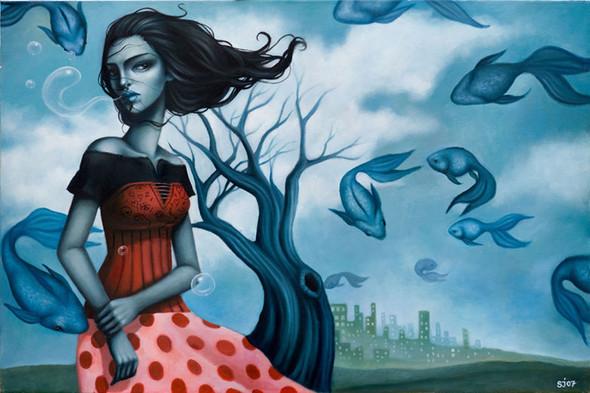 Sarah Joncas – девушки, рыбы измеи. Изображение № 8.