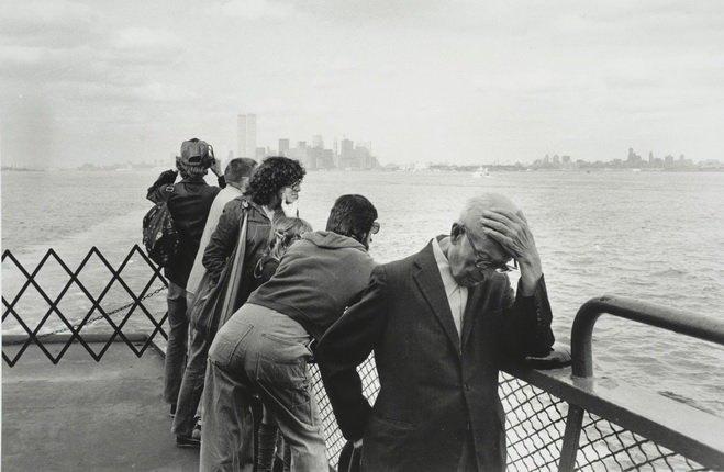 Арно Фишер. Нью-Йорк, Городской паром. 1978. Изображение № 4.