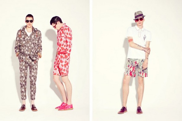 Новые мужские лукбуки Louis Vuitton, Marc Jacobs и Fred Perry. Изображение № 30.