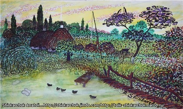 Shinkarchuk Anatoly watercolor and Japan Шинкарчук Анатолий акварель и Япония. Изображение № 6.