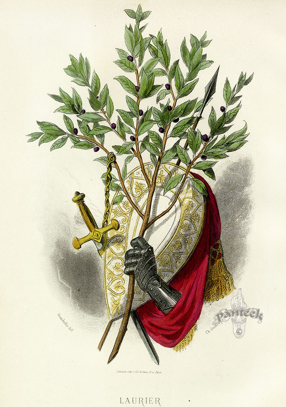 Винтажные иллюстрации J.J. Grandville. Изображение № 21.