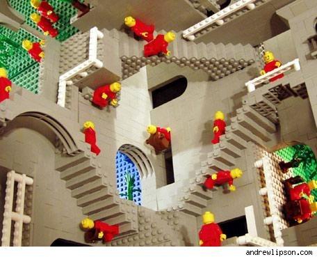 Трехмерный макет Японии и еще 10 удивительных объектов из LEGO. Изображение № 14.