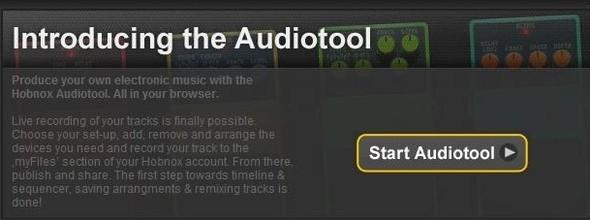 Hobnox Audiotool. Изображение № 1.