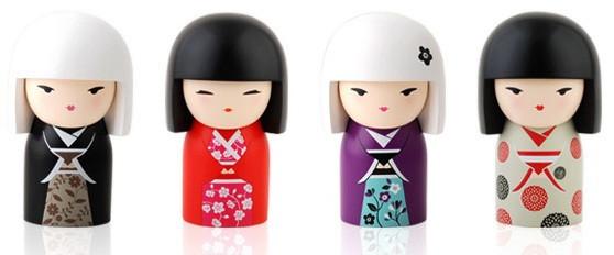 """Традиционная японская Кукла-талисман """"Кокеши"""". Изображение № 1."""