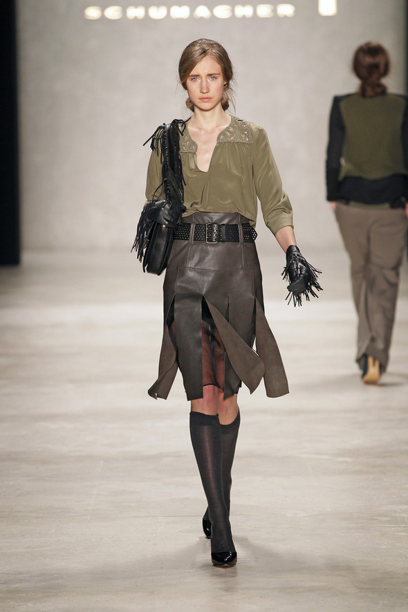 Berlin Fashion Week A/W 2012: Schumacher. Изображение № 28.