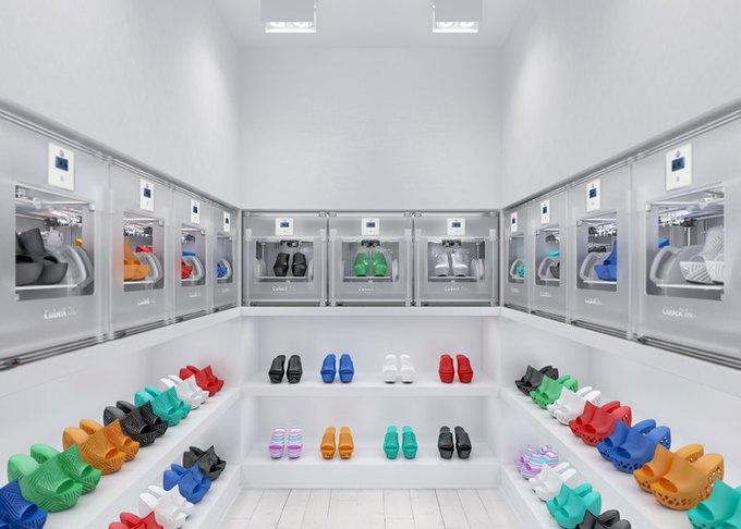 Дизайнер создал коллекцию обуви, распечатанную на 3D-принтере. Изображение № 5.