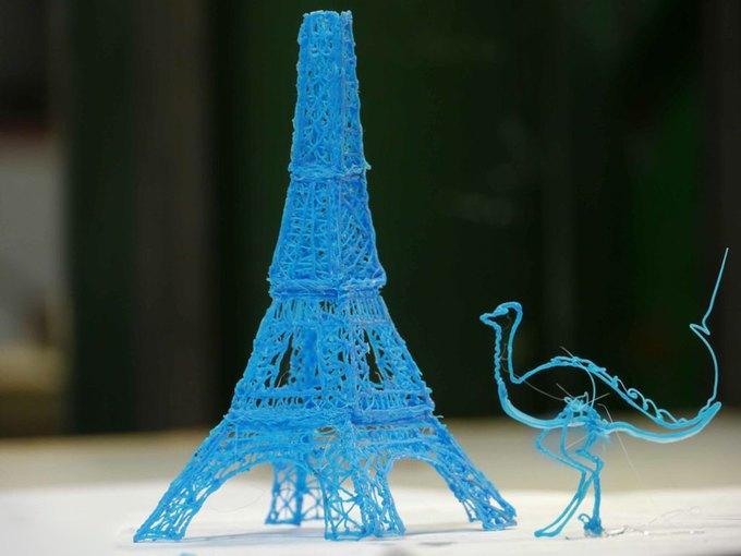 Разработана ручка, создающая «3D-рисунки». Изображение № 1.