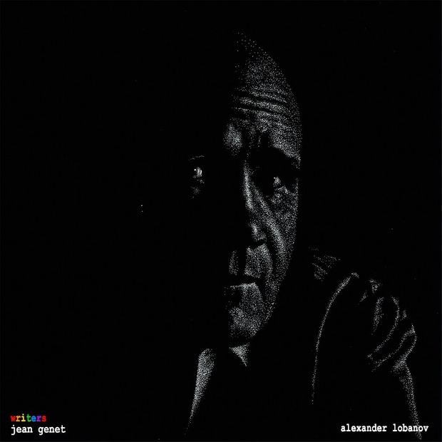 «Писатели» (серия графических работ, художник Александр Лобанов). Изображение № 5.