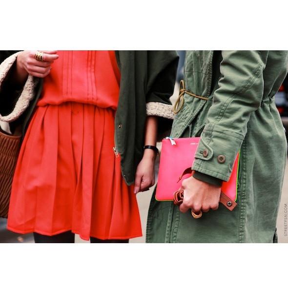 Изображение 47. На полях: 10 тенденций уличного стиля с прошедших недель моды.. Изображение № 47.
