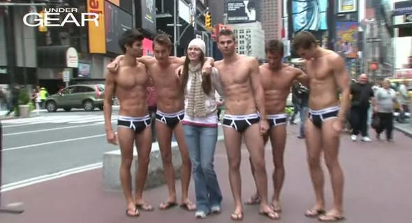 Как российские девчонки захватили Times Square. Изображение № 5.