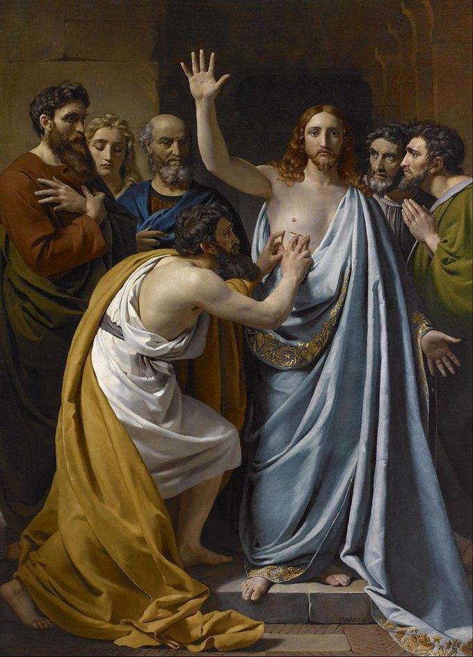 Франсуа-Жозеф Навез «Неверие Святого Фомы» (1823). Изображение № 26.