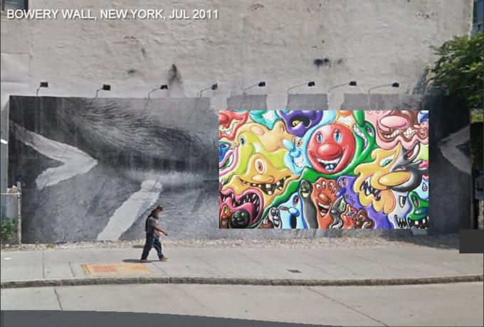 Историю граффити на одной стене восстановили с помощью Google Street View . Изображение № 8.
