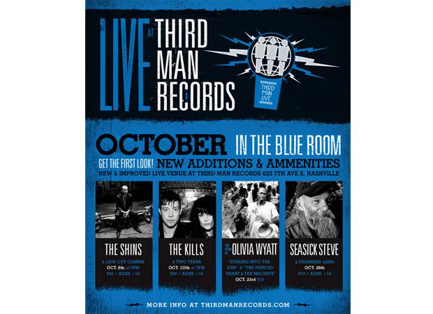The Kills и Seasick Steve запишут лайв-альбомы на лейбле Джека Уайта. Изображение № 1.