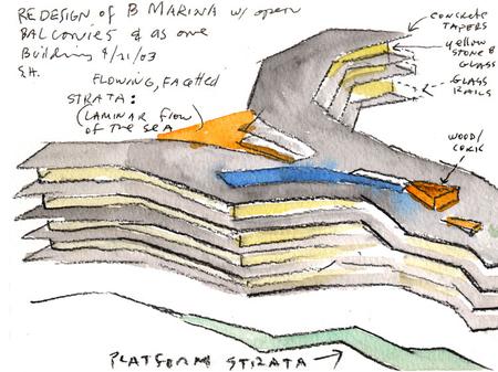 Архитектурные акварели стивена холла. Изображение № 28.
