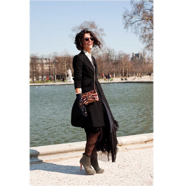 Луки с Недели моды в Париже. Изображение № 77.
