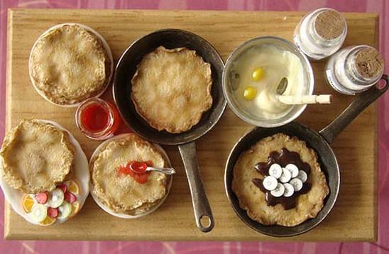 Еда в миниатюре. Изображение № 34.