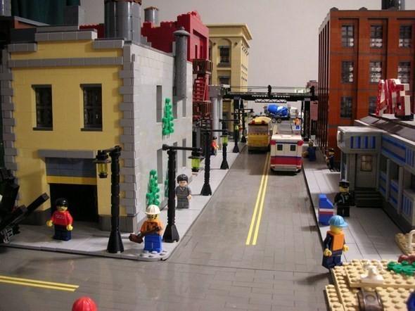 Изображение 7. Улицы Нью-Йорка из конструктора LEGO.. Изображение № 7.