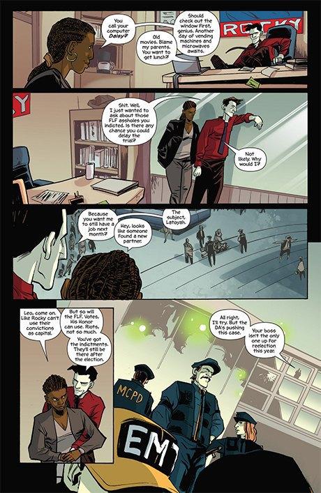 Автор комикса The Fuse об отношении иностранцев к России и женщинах-полицейских. Изображение № 13.