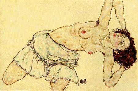 Эгон Шиле. Эротика вискусстве живописи ирисунка. Изображение № 16.