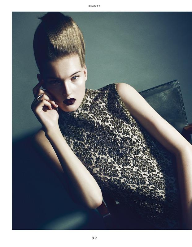 Вышли новые съемки из Bon, Flair, Vogue и других журналов. Изображение № 6.