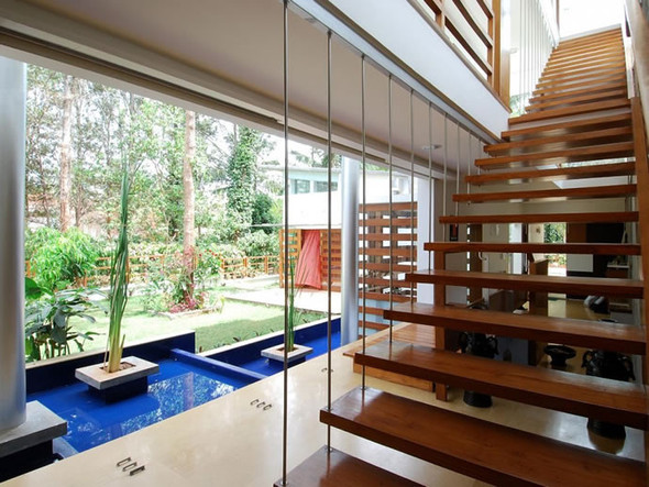 Красивые дома: Дом Павильоны в Бангалоре. Изображение № 10.