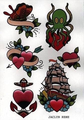 Tattoo Flash. Изображение № 4.