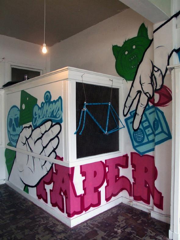 Абстракции и татуировки в концепт шопе WeSC. Изображение № 27.