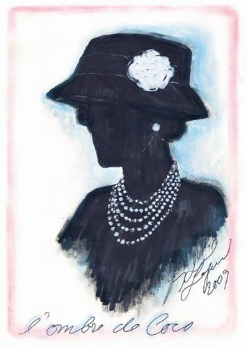 Иллюстрация Карла Лагерфельда к книге «Coco Chanel. Легенда и жизнь» . Изображение № 7.