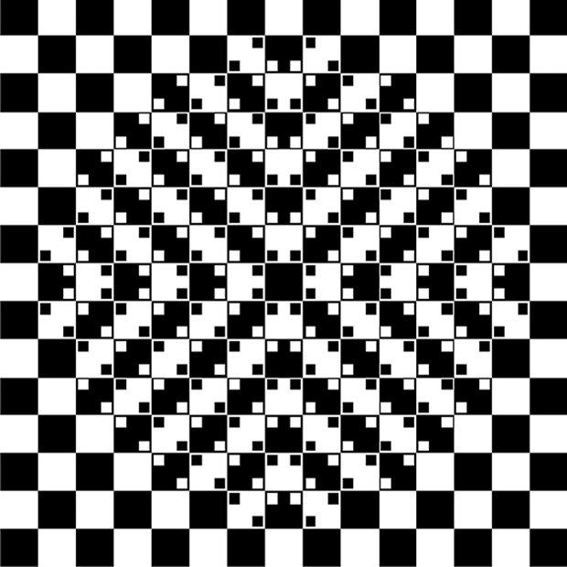 Вопрос учёному: Чем объясняются оптические иллюзии?. Изображение № 9.