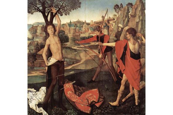 Ганс Мемлинг. Святой Себастьян. Изображение № 4.