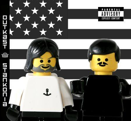 20 Обложек хип-хоп альбомов изLego. Изображение № 28.