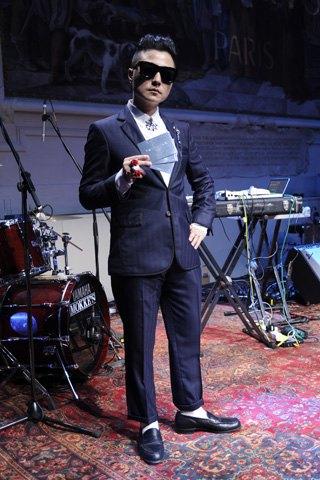 Maison Kitsuné устроили презентацию с музыкантами на Pitti Uomo. Изображение № 7.