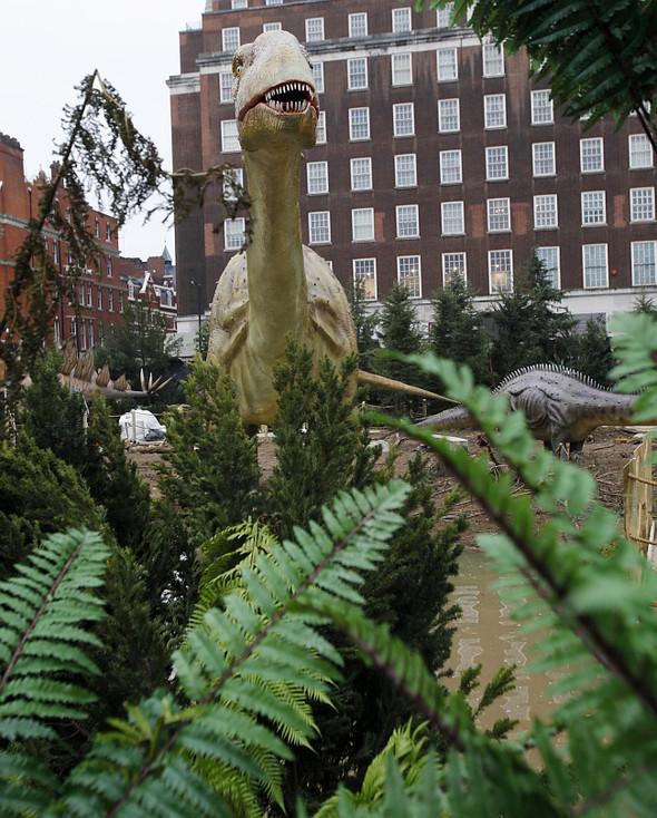 """""""Dinosaurs unleashed"""" или динозавры в Лондоне. Изображение № 10."""