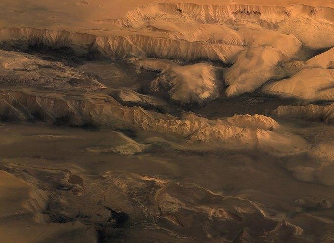 Появились первые подробные 3D-карты Марса. Изображение № 1.
